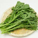 春菊の栄養と効果効能は?保存方法、冷凍もできる?生でも食べられる?