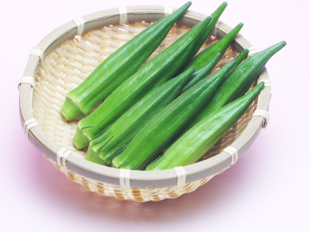 オクラの栄養と効能、旬はいつ?ネバネバ効果は納豆や長芋と食べてさらにアップ!